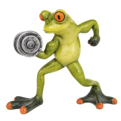 Frog Weightlifter Globe Imports