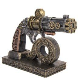 Steampunk Gun with Stand