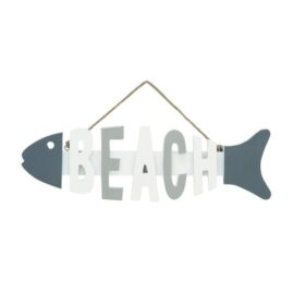 Fish Beach Sign