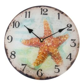 L-8523G-Starfish-Clock