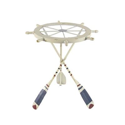 Ship Wheel Table