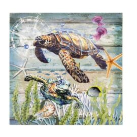 W-8771-Turtles-Wall-Hanging