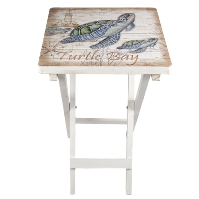 Turtle Bay Wood Table Globe Imports