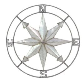 Wall Compass Rose Wall Decor