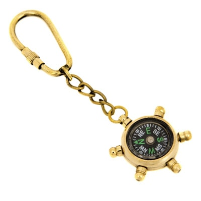 K-1987-Compass-Key-Ring-6-18-7849-4848