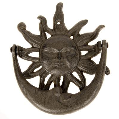 Sun and Moon DOOR Knocker