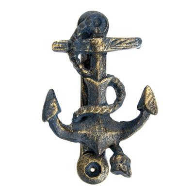 U 4736 Anchor Door Knocker 6 18 7778