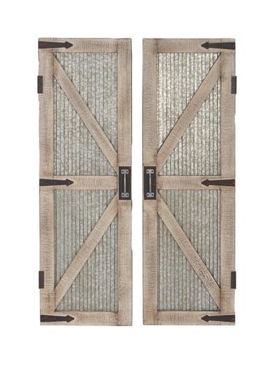Reproduction Barn Doors Wall Decor