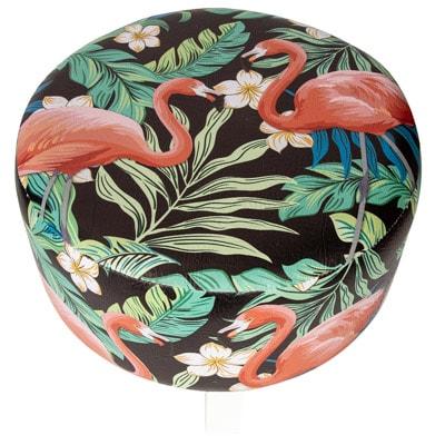 Flamingos Stool Globe Imports