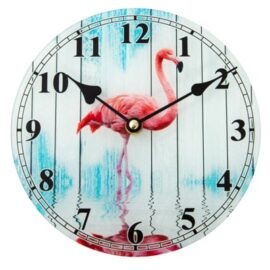 Larger Flamingo-Clock-6-19_1085-9144